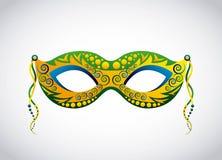Brazil mask design Stock Photo