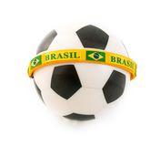 Brazil Mayor Player in Soccer Championships Royalty Free Stock Image
