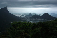 Brazil Mountains and Beaches Royalty Free Stock Photo