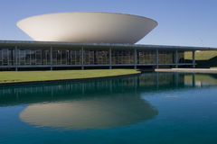 Brazil National Congress. The National Congress building in Brasilia during the day Stock Photos
