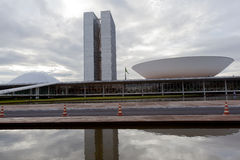 Brazil National Congress in Brasilia Royalty Free Stock Photos