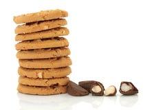 Brazil Nut Cookie Snack stock photography