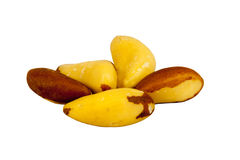 Brazil nuts Royalty Free Stock Photography