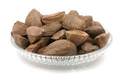 Brazil nuts Royalty Free Stock Photos
