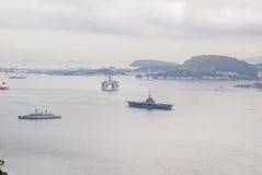 Brazil - Oil Rig In Guanabara Bay - Rio de Janeiro Royalty Free Stock Image