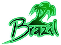 Brazil palm Royalty Free Stock Image