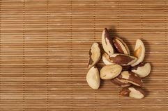 Brazil para nuts Royalty Free Stock Images
