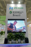 Brazil pavilion participate in the exhibition Stock Photos