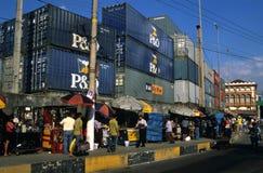 brazil port Manaus Obraz Stock