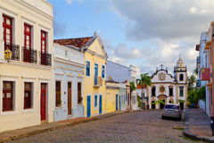 Brazil. Recife. Olinda. The Basilica And Monastery Of St. Benedict.