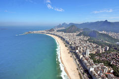Brazil Rio Copacabana Royalty Free Stock Images