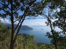 Brazil - Rio de Janeiro. The best view from Ilha Grande in Rio de Janeiro, Brazil royalty free stock image