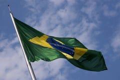 Brazil& x27; s-flagga Royaltyfri Foto