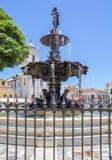 brazil salvador La fuente en Terreiro de Jesus Square fotografía de archivo libre de regalías
