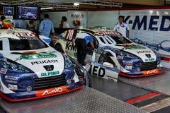 brazil samochodów interlagos marques pizzonia zapas fotografia royalty free