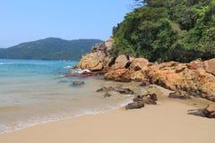 Brazil sandy beach Stock Photography