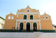Brazil, Santarem /Alter do Chao: Historic Catholic Church (1896) Royalty Free Stock Photography