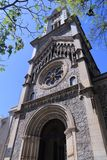 Brazil - Sao Paulo. Sao Paulo, Brazil. Nossa Senhora da Consolacao - Romanesque Revival style church in downtown Royalty Free Stock Image