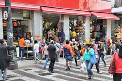 Brazil shopping Royalty Free Stock Images