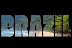 Brazil sign Royalty Free Stock Image