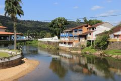 Brazil small town Stock Images