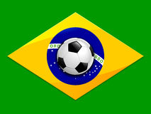 Brazil Soccer Background Stock Photos