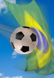 Brazil Soccer. Stock Photos