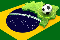 Brazil 2014 Royalty Free Stock Image