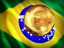 Brazil soccer Stock Image
