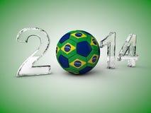 Brazil soccer world championship Stock Images