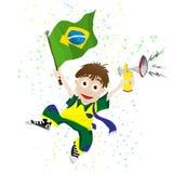Brazil Sport Fan Stock Images