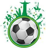 Brazil symbol set Stock Images