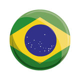 Brazil symbols design Royalty Free Stock Photography