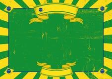 Brazil used horizontal background Stock Images