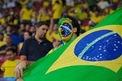 Brazil v Uruguay - FIFA 2018 World Cup Qualifiers Stock Images