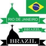 Brazil. Vector illustration (EPS 10 Stock Image