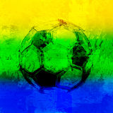Brazil 2014 Vector Water Color Background Stock Photo