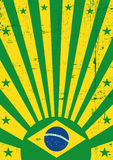 Brazil vintage background Stock Photography