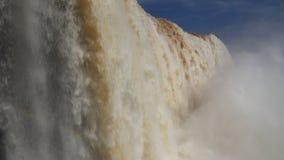 Brazil waterfall stock video
