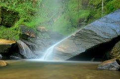 Brazil Waterfall. Waterfall located at morro do pilar City, Minas Gerais Estate, Brazil Royalty Free Stock Photos