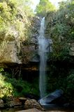 Brazil Waterfall. Waterfall located at morro do pilar City, Minas Gerais Estate, Brazil Stock Photo