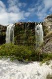 Brazil Waterfall. Waterfall located at Santana do Riacho City, Minas Gerais Estate, Brazil Stock Photo