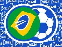 Brazil world cup. Creative design of brazil world cup Stock Illustration