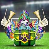 Brazil, the world football championship Stock Photos