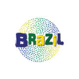 Brazil World Stars image. Stock Images