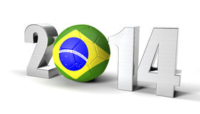 Brazil 2014 Royalty Free Stock Images