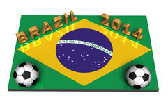 Brazilië 2014 Stock Foto