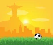 Brazilië 2014 royalty-vrije illustratie