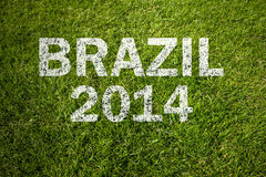 Brazilië 2014 Royalty-vrije Stock Foto's
