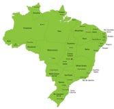 Brazilië royalty-vrije illustratie